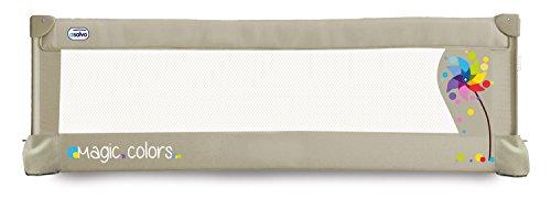 Asalvo 151504 - Barrera de cama 150 cm para bebés, diseño molinillo, color beige