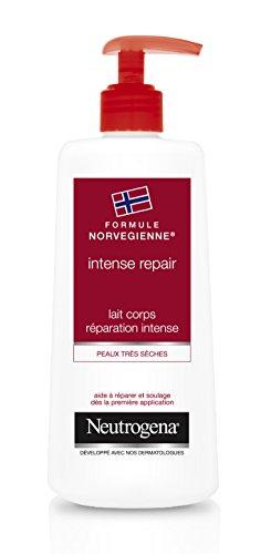 Neutrogena Intense Repair Lait Corps – Formule Norvégienne pour une peau hydratée et douce – 1 x flacon pompe de 400 ml