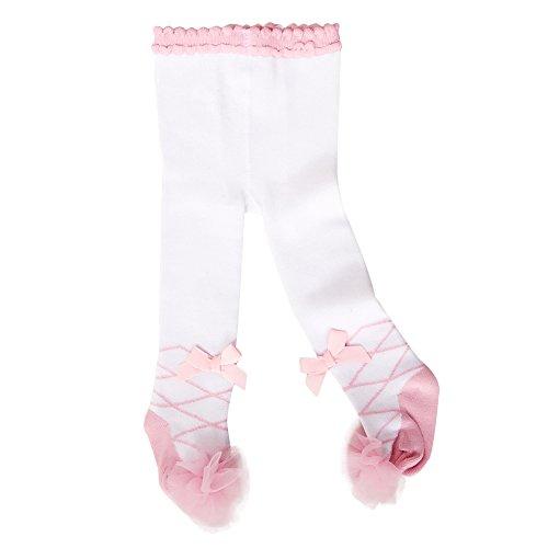 Sanlutoz Baby Strumpfhosen Mädchen Baumwoll Rich Panty Schlauch Kinder Strümpfe Neugeborenen (0-12 Monate, LGS006 FENBAI)