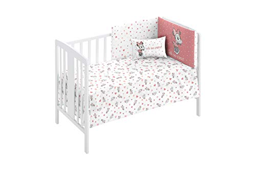 Disney 66820 - Pack Colcha+Protector 60 x 120, moderno, color Rosa