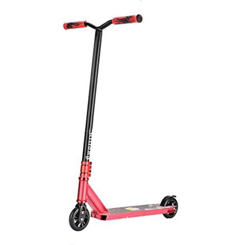 qwert Patinetes Pro Stunt Scooters Freestyle Trick Scooter con Horquilla De Aluminio, Patinete Intermedio Duradero para Niños De 8 Años En Adelante, Adolescentes, Niños, Adultos