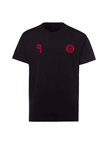 FC Bayern München T-Shirt Lewandowski schwarz, XL