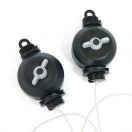 Easy Roller - 2 paires - fixation réglable 2 x 5 Kg pour lampes de culture - SACLA original