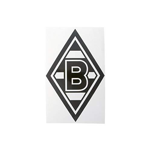 """AUFKLEBER STICKER """"Raute"""" schwarz VFL BORUSSIA MÖNCHENGLADBACH"""