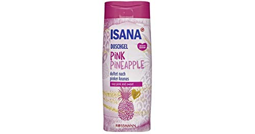 Isana Duschgel Pink Pineapple duftet nach pinker Ananas Inhalt: 300ml Showergel
