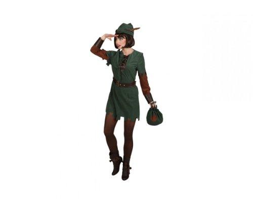 Orlob Disfraz para mujer, Robin Hood Lady, 3 unidades.