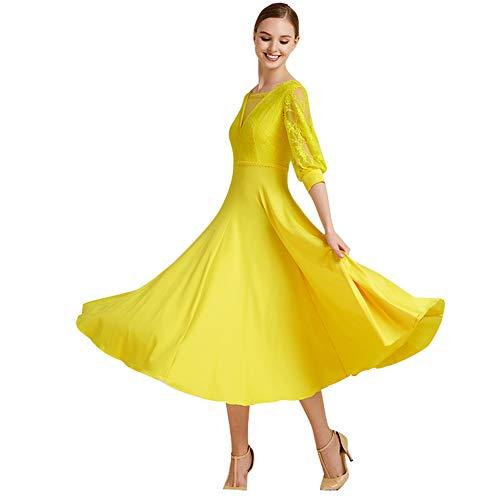 Vestidos De Flamenca Amarillo Y Negro