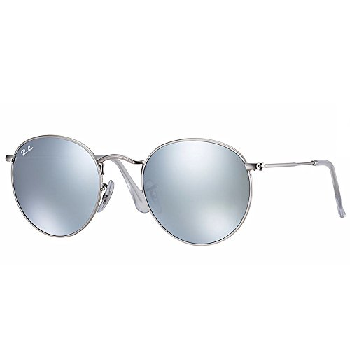 Ray-Ban Round Metal RB3447 019/3050 Silver Silver Mirrored