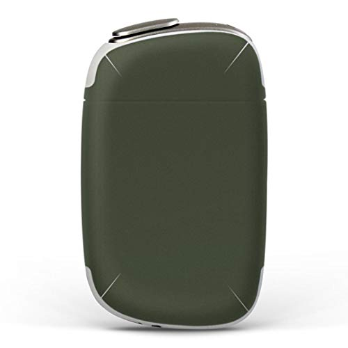 igsticker PloomS 専用 プルームテック Ploom TECH S デザインスキンシール カバー ケース 保護 フィルム ステッカー 012248 緑 単色 シンプル