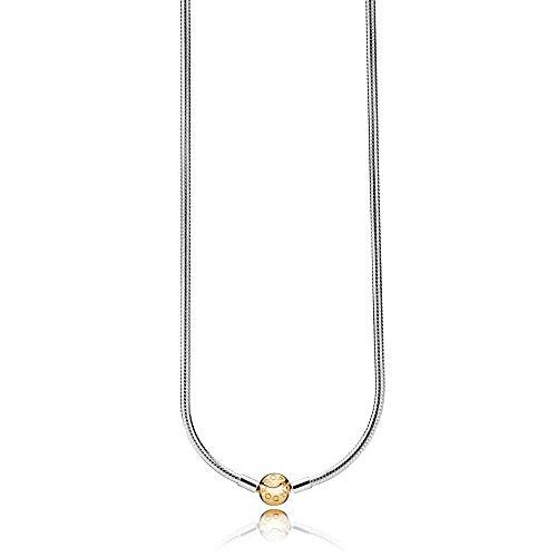 PANDORA Women Silver Pendant Necklace 368004-42
