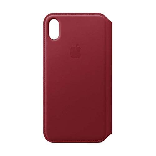 Apple Custodia folio in pelle (per iPhoneXSMax) - (PRODUCT)RED