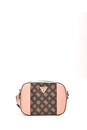 Guess Kamryn Crossbody Top Zip Brown/Blush