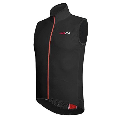 RH + sscu371 930L, Cape Soft Shell Wind Vest heren, zwart/rood, L