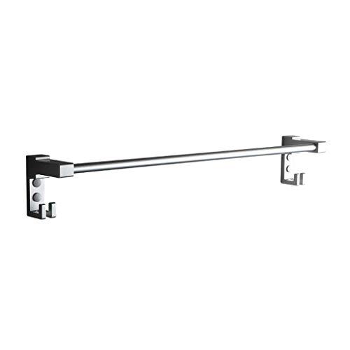 LIYONG Handtuch Schienen Aluminium Raum Rahmen Turm Einstab Haken Aufhänger Badezimmer Regal Länge Anhänger 40/50 / 60 cm Handtuch HLSJ (Size : 40cm)