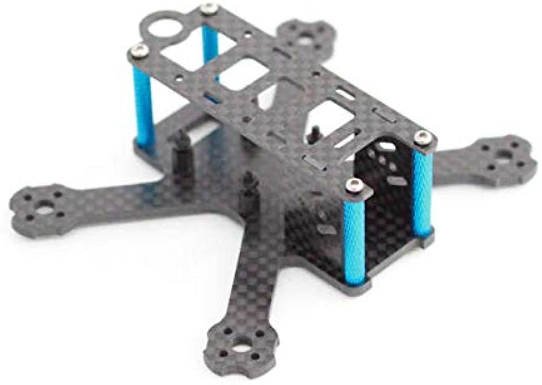 98H Nano QAVR 98mm Wheelbase Carbon Fiber RC Drone FPV Racing Frame Kit Support Swift  RC Toys & Hobbies Multi redor Parts1 x 98H Nano QAVR Frame Kit