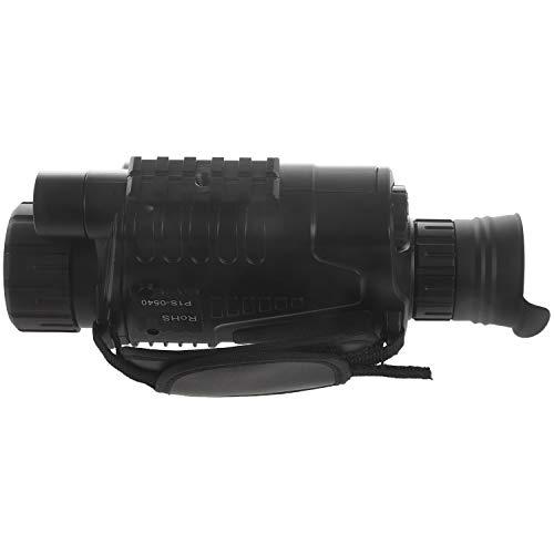 Kaxofang Monocular Infrarrojo de VisióN Nocturna 5X40 Zoom Gafas de VisióN Nocturna 200M Distancia ObservacióN Nocturna ObservacióN y DíA de Caza Digital IR