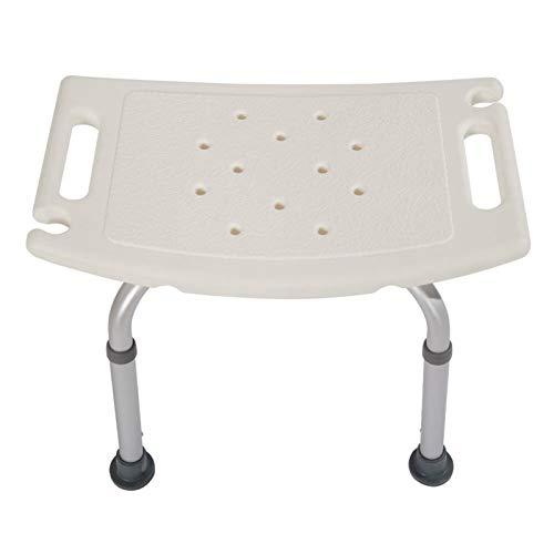 Asiento de asiento de bañera médica de ancianos sin silla trasera Altura Ajustable Ajustable Asiento antideslizante Deshabilitado Embarazo anciano Taburete para ducha ( Color : Stool plus cushion )