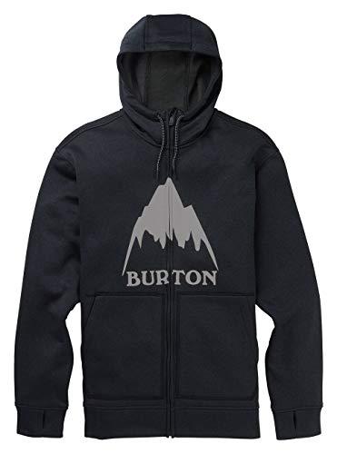 Burton Oak, Felpa con Cappuccio Uomo, Mountain True Black Heather, XS