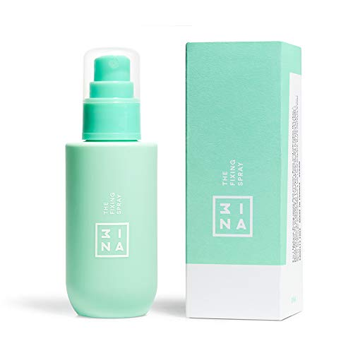 3INA MAKEUP - Vegan - Cruelty Free - The Fixing Spray - Fissante Trucco - Fissatore Make-up - Formula Leggera a Lunga Tenuta - Base Trucco - Idratante e Rinfrescante