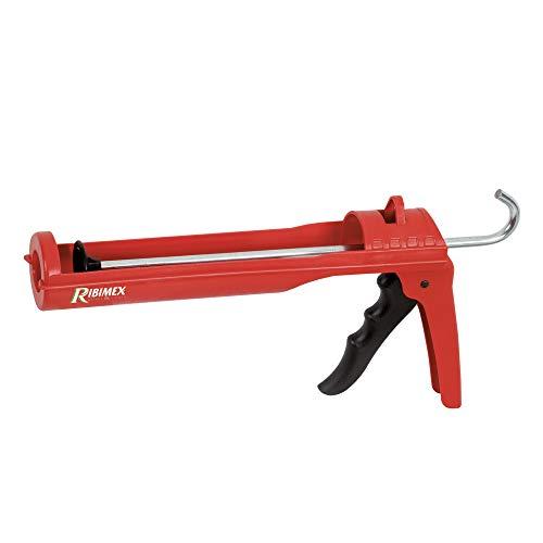 Ribimex PRPSMC Pistola per sigillanti, Rosso e Nero