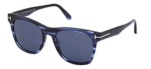 Tom Ford Gafas de Sol BROOKLYN FT 0833 Striped Blue/Blue 54/20/145 hombre