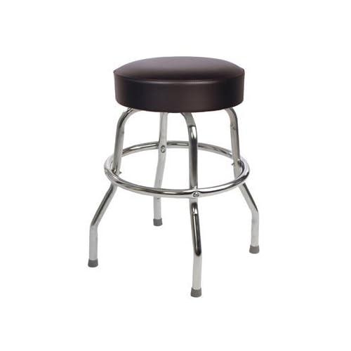 Amazoncom Richardson Seating Retro 1950s Backless Swivel Bar Stool