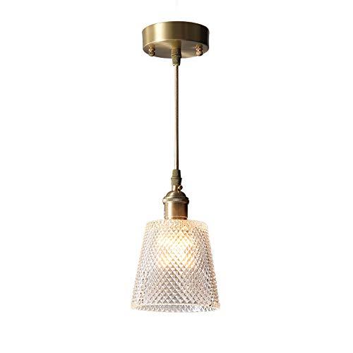 Lámpara de araña de cristal de American Country, cálida lámpara de dormitorio, ambiente de lujo, sala de estar, restaurante, hogar, simple araña