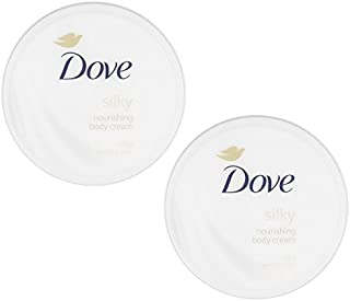 Dove Silky Nourishment Body Cream, 10.1 Ounce / 300 Ml (Pack of 2)