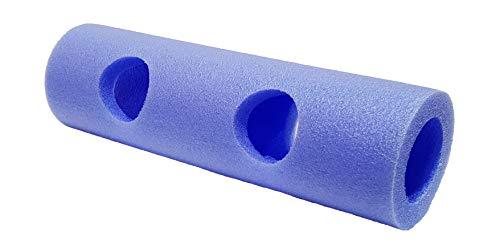 Leisis 0101161 Conector Doble, Unisex niños, Azul, Talla Única