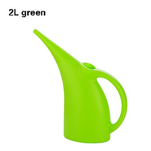 Lange Mond Watering Can,Watering Ketel Voor Huis Plant Binnen Buiten, Gemaakt van Dikke PP Materiaal, comfortabel Voelen, Handig En Arbeidsbesparend. Groen, rood