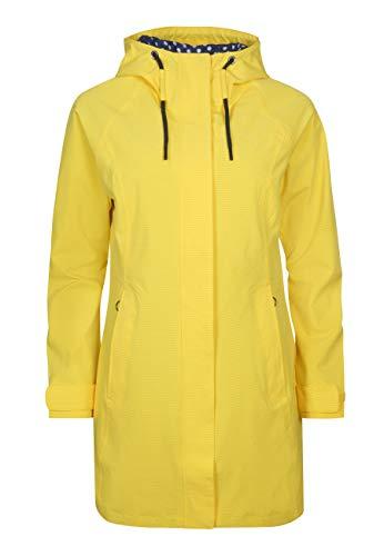 ELKLINE Damen Regenmantel Breatheeasy, Farbe:lemon, Größe:46