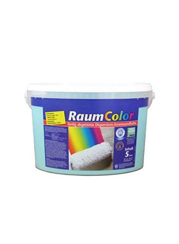 Raumcolor getönt 5l Türkis Innenfarbe Farbe Wilckens Dispersion Dispersionsfarbe Wandfarbe Deckenfarbe Tönfarbe Raumfarbe