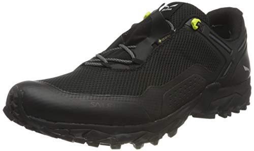 Salewa Herren MS Speed Beat Gore-TEX Traillaufschuhe, Black/Black, 46 EU