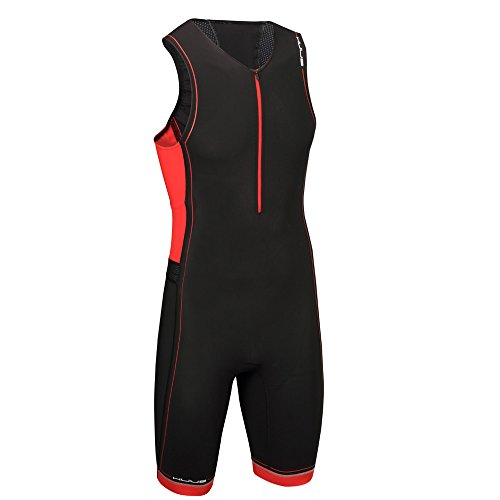 HUUB Traje de Core Tri para Hombre, Hombre, Core, Black/Red/Red, Small