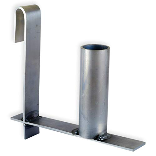 workingHOUSE Abrollhilfe für PVC Sichtschutzstreifen an Doppelstabmatten Zäune für eine einfache und schnelle Montage