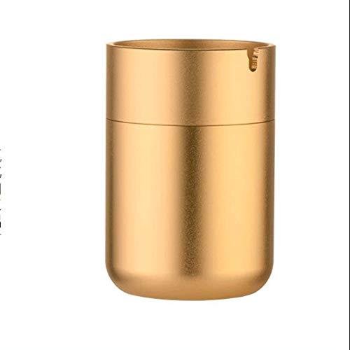 SHYPT Aschenbecher for den Außenbereich mit Deckel for Zigaretten, Wind- und regensicherer Aschenbecher aus Edelstahl for den Außenbereich (Color : A)