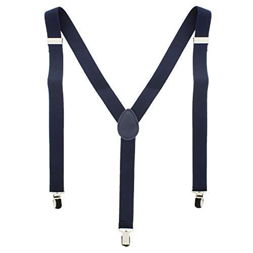 ZAC Alter Ego Bretelles ajustables unisexes Uni Largeur 25 mm - bleu -