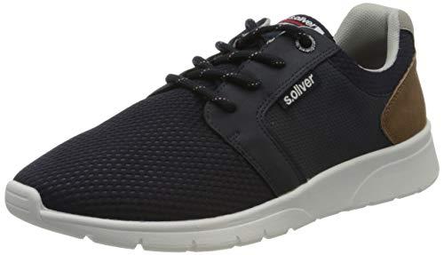 s.Oliver Herren 5-5-13618-34 Sneaker, Blau (Navy 805), 45 EU
