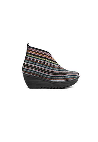 B M BERNIE MEV NEW YORK Maile Fashion Boot - Maile es un botín de cuña para Mujer, Multicolor (Multi Mix), 39 EU