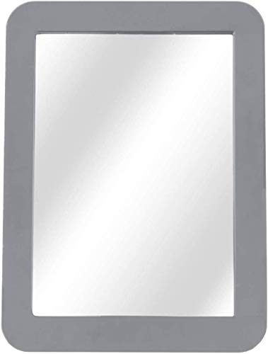 Boxgear Magnetic Locker Mirror - 5' x 7'- for School Locker, Bathroom, Household Refrigerator, Locker Accessory, Workshop Toolbox or Office Cabinet