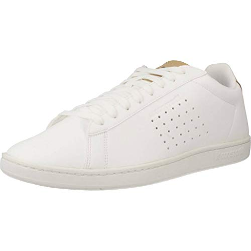 LE COQ SPORTIF Courtset Sport, Zapatillas para Hombre, Blanco (Optical White/Croissant Blanc), 40 EU