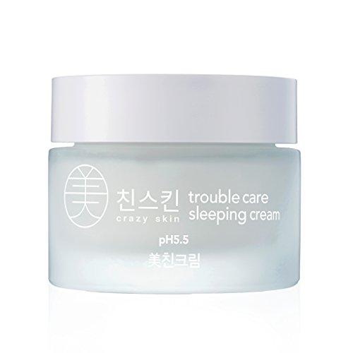 Crazy Skin Korea - Weakly Acidic ph level 5.5 Trouble Care Sleeping Cream 50g