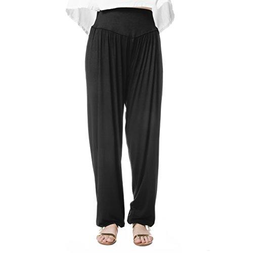 Comfy Yoga Pants Fitness Fashion Accessory, One Size, Black