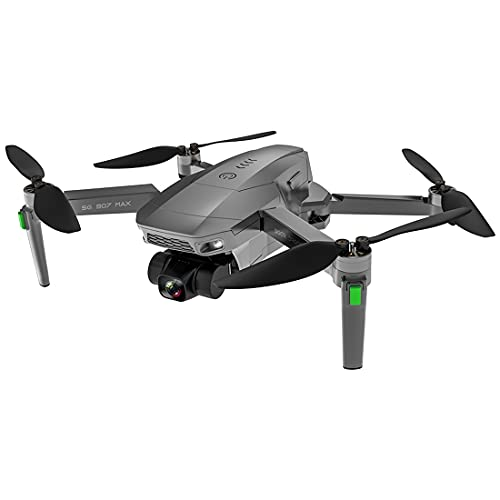 YOU339 Drone fotografico, SG907 MAX 5G GPS WiFi drone 3 assi fotocamera 4K RC drone professionale pieghevole con borsa portatile