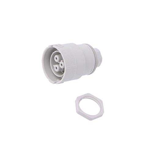 3702/A Connector: AC supply push-in female 0.5-2.5mm2 16A 250V IP68 AAG STUCCHI