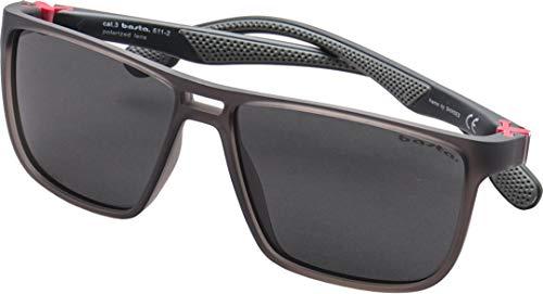 Basta Agropoli - Gafas de sol transparentes (polarizadas), color gris oscuro