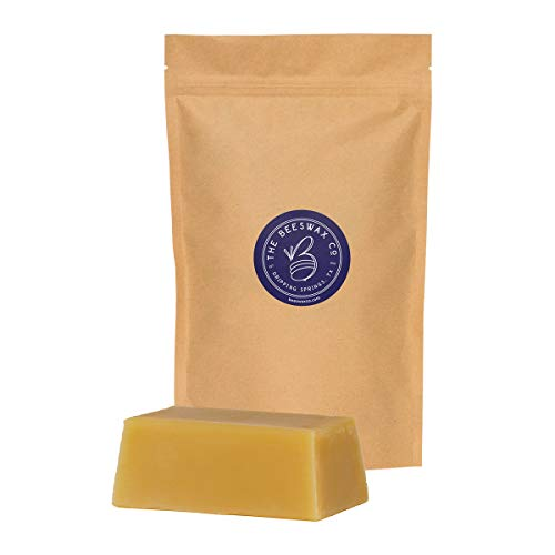 The Beeswax Co. 1 LB Pure Texas Beeswax Food Grade Cosmetic Grade All Natural Texas Beeswx (1)