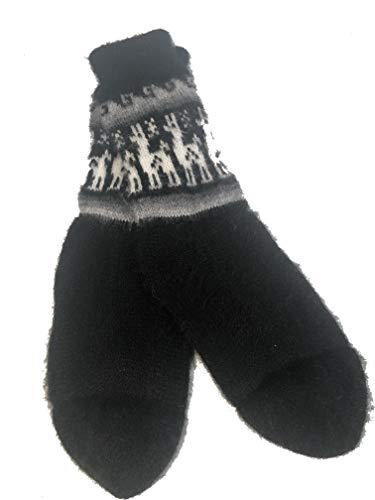 Fair Trade Unisex bolivianischen weiche Alpaka Woll Wollsocken SIZE 4-9 für Mann oder eine Frau