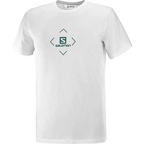 Salomon Cotton męski T-shirt na co dzień biały biały M