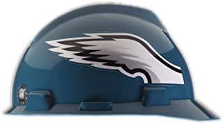 MSA NFL Hard Hat, Philadelphia Eagles, Green/White
